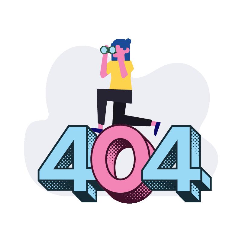 404 Illustration
