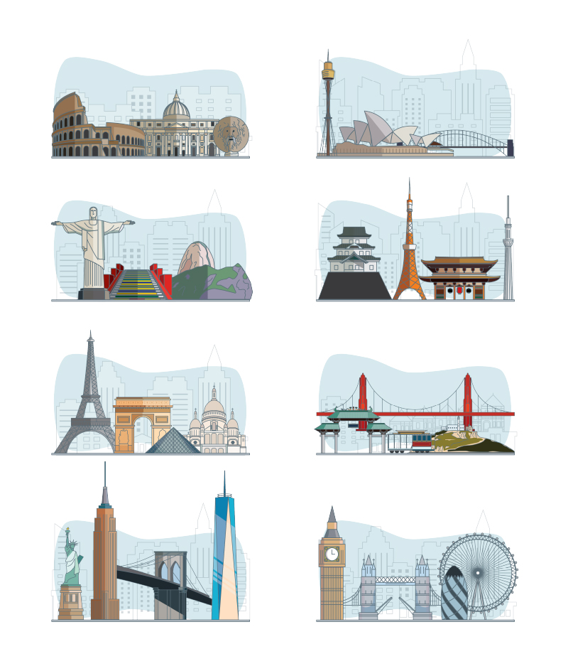 City Skylines Illustration Pack