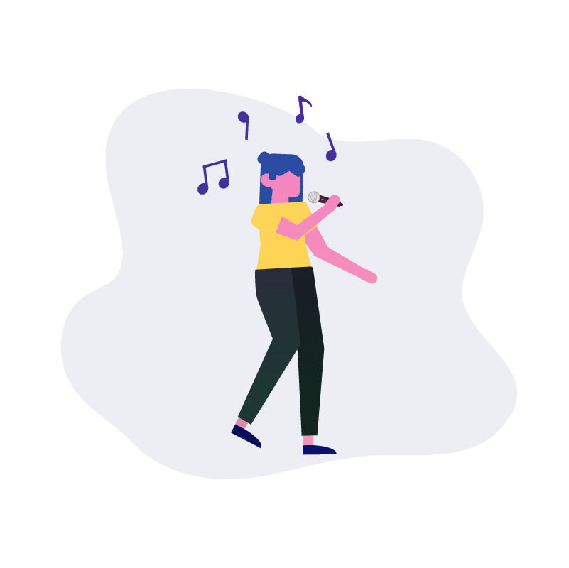Person Singing